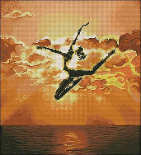 Балерина на закате