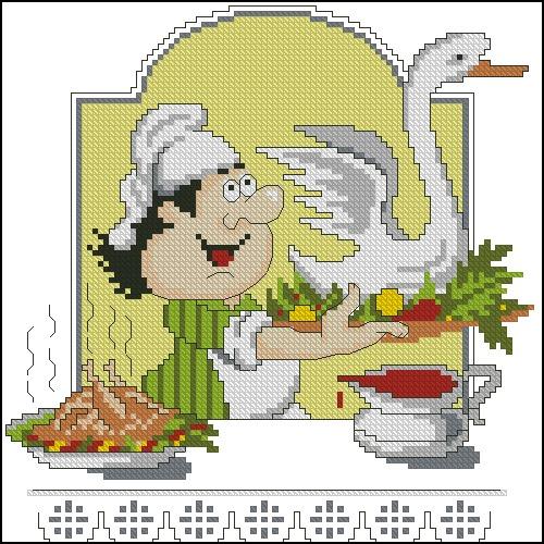 Кулинар с гусем