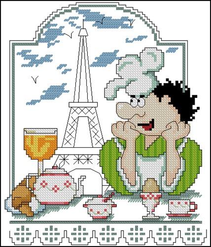 """Поваренок """"в Париже"""""""