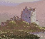 Dawn Mist at Eilean Donan