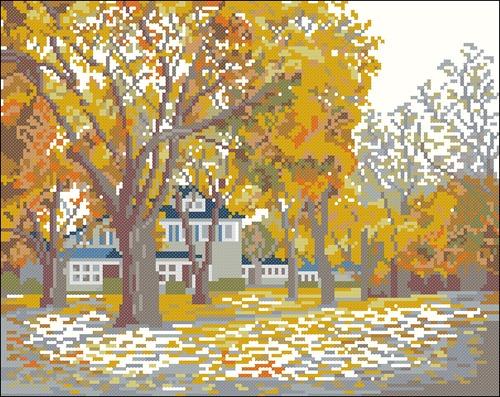 Осень и дом