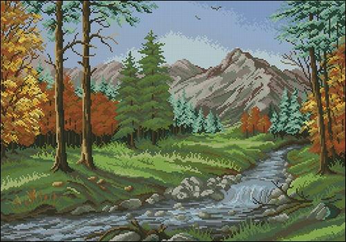 Mountain stream GC 7065