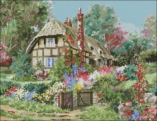 Прекрасный загородный домик