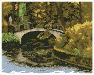 Лесной мостик