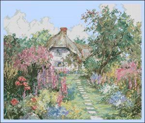 Загородный домик весной