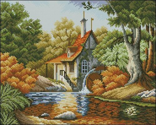 Осенняя мельница