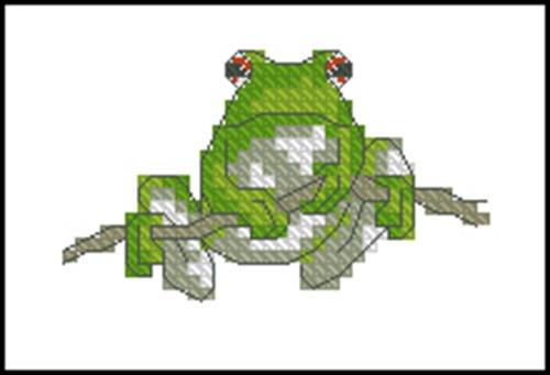 Зеленая жабка