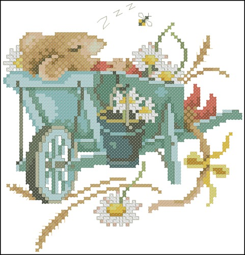 Vera de muis in kruiwagen N°34349
