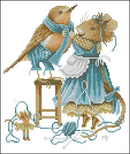 № 34874 Vera the Mouse-Dressindg