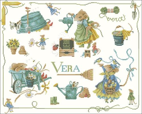 Vera de muis + allerlei N°34358