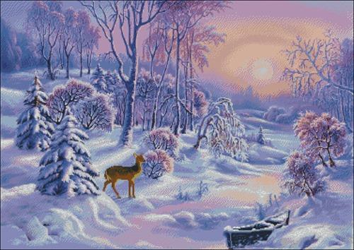 Морозный пейзаж