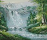 Завораживающий водопад