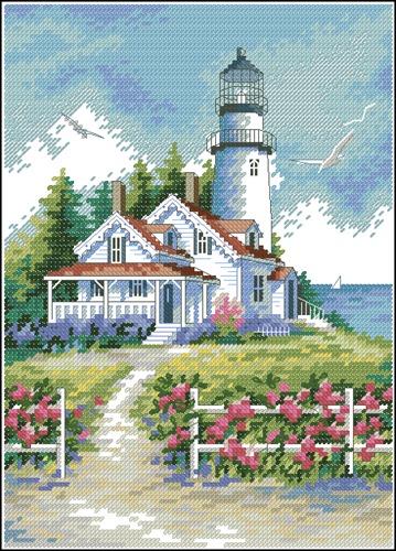 Scenic lighthouse