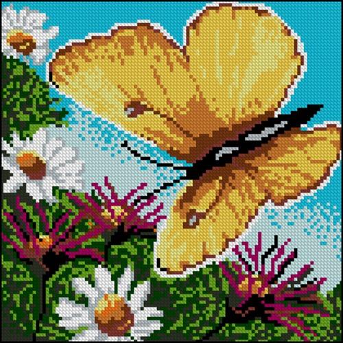 Летний день и бабочка