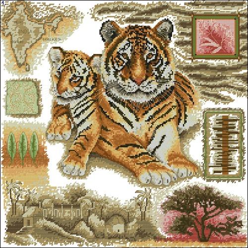 Африканский тигр