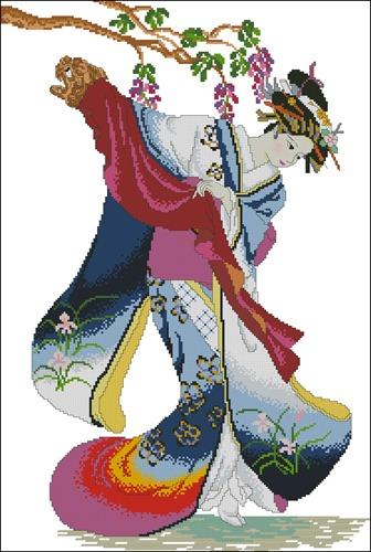 Japanese dancer
