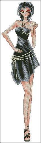 Стильная девушка 6