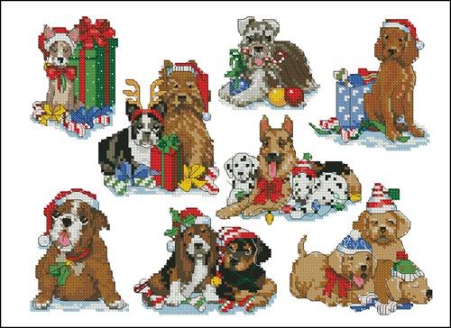 Holidayhound ornaments