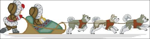 Эскимосы и хаски