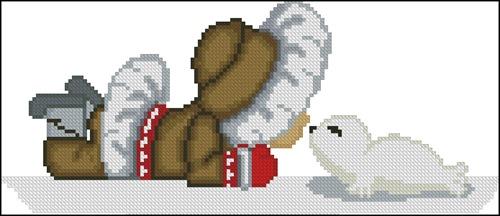Эскимос и тюлень