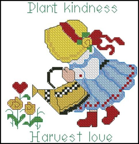 Plant kindness - Harvest love
