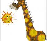Жираф и солнышко