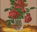 Розы в вазе (Goblenset 720)