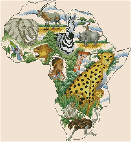 The Continents - Africa