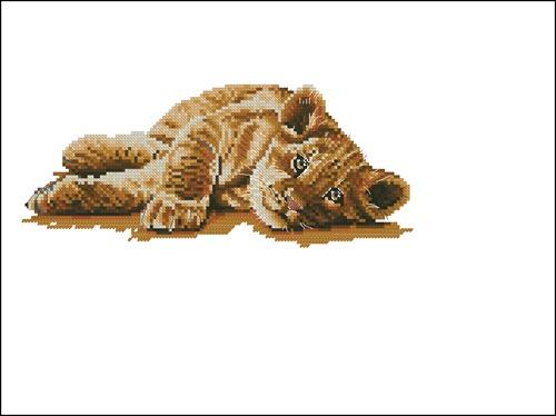 Кошечка отдыхает