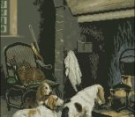 Собаки у камина