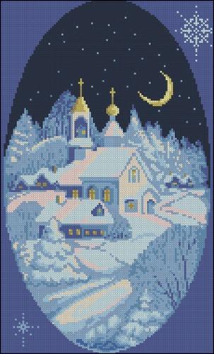 Ночь перед Рождеством (овал)
