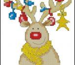 Fun Rudolf Christmas Card