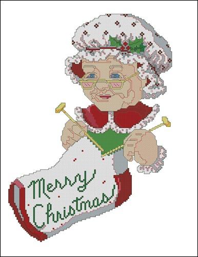 Merry Christmas Sock