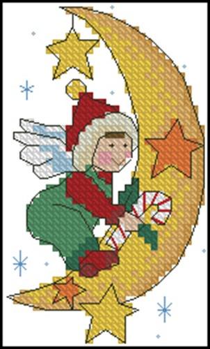 Holiday Treats Angel & Moon