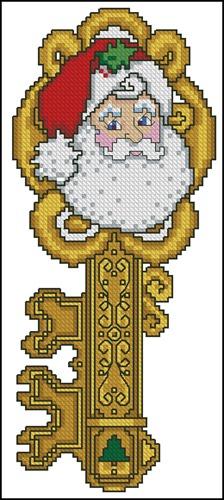 Ключ - Дед Мороз